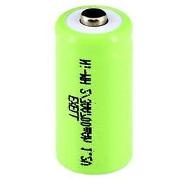 Exell 1.2V 2/3AA Size 700mAh NiMH Rechargeable Button Top Ba