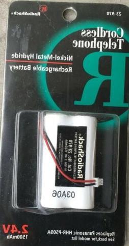 RadioShack 2.4V Nickel-Metal Hydride Telephoned Rechargeable