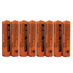 2~8 Pcs 700mAh Panasonic NiMH AAA Rechargeable Battery For C