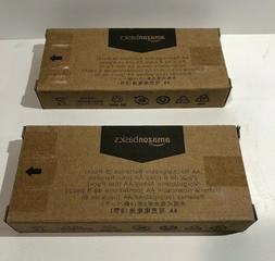 2 BOXES  AmazonBasics AA Rechargeable Batteries Pre-Charged