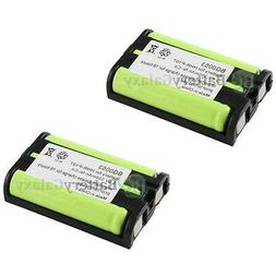 2 Cordless Home Phone Rechargeable Battery for Panasonic HHR