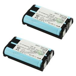 2 Home Phone Rechargeable Battery for Panasonic HHR-P104 HHR