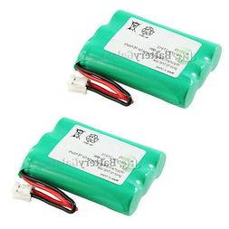 2 new cordless home phone rechargeable battery