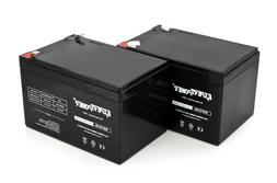2 Pack ExpertPower 12 Volt 12 Ah Rechargeable Battery || EXP