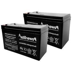 2 Pack 12V Volt 9Ah battery kit for APC XS BX1500LCD RBC109
