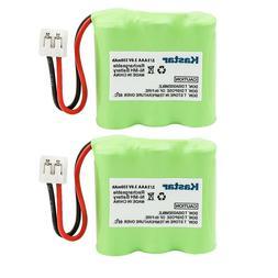 2 Pack 330mAh 3.6V Cordless Phone Battery Ni-MH 23-1225 for