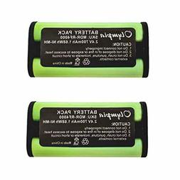 2 pack bp hp550 11 replacement battery