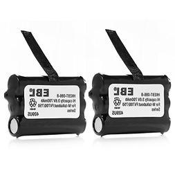 EBL 2 Packs Motorola Talkabout FV700 FV750 Two-Way Radio Bat