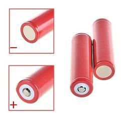 2 PCS 18650 3000mAh 3.7V 3.7volt LI-ION Rechargeable Battery