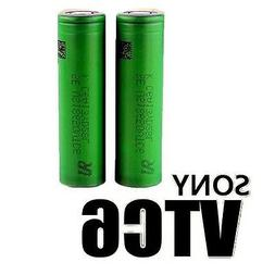 2 Sony VTC6 18650 Rechargeable High Drain Batteries 3000mAh