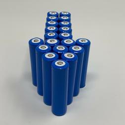 20 pcs 18650 Rechargeable Lithium Ion Batteries