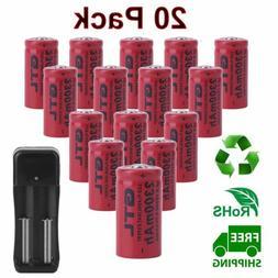 20pcs Rechargeable Batteries &  Chargers Kit For Netgear Arl