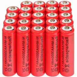 24 x AA 3000mAh Ni-Mh 1.2V rechargeable battery Cell for MP3