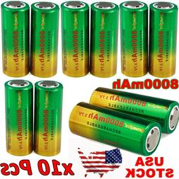 26650 Li-ion Battery 3.7V Rechargeable Battery For Flashligh