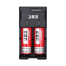 EBL 26650 5000mAh 3.7V Lithium Rechargeable Batteries  with