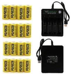 2800mah batteries cr123a 16340 rechargeable li ion