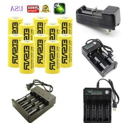 2800mAh Rechargeable 16340 Battery CR123A CR123 and multi-fu