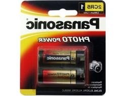 8 x Panasonic 2CR5 6 Volt Lithium Batteries