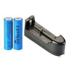 2pc UltraFire 14500 Battery 3.7V 1800mAh Li-ion Rechargeable
