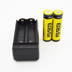 2pcs ETSAIR 18650 3.7V 9900mAh Rechargeable Li-ion Battery B