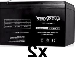 ExpertPower  EXP1270 12V 7Ah Recharge Universal Sealed Lead
