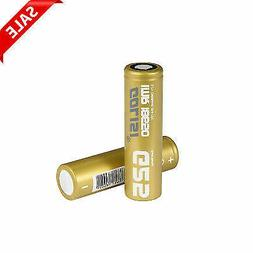 2x 2500mAh Camera Rechargeable Battery GOLISI High Drain Rep