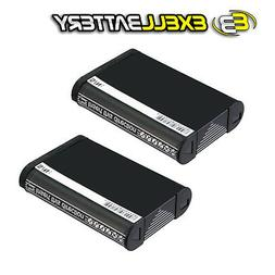 2x 3.7V 950mAh Digital Camera Battery For Sony DSC-RX100 ML-