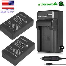 2x EN-EL20 1200mAh Rechargeable Battery+Charger For Nikon V3