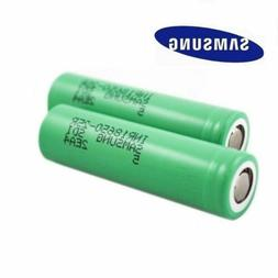 2x Samsung INR18650-25R 2500mAh 20A Rechargeable Battery for