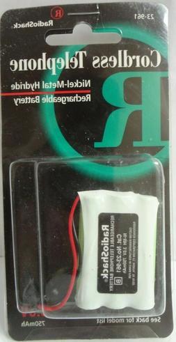 RadioShack 3.6V Nickel-Metal Hydride Telephone Rechargeable
