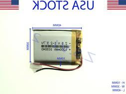 3 7v 1200mah 103040 lithium polymer lipo