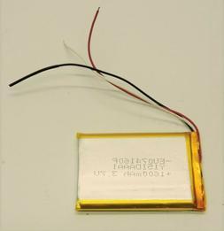 3.7V 1600mAh 683566 Lithium Li-ion Rechargeable Battery GPS/