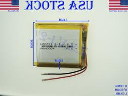 3.7V 4000mAh 125054 Lithium Polymer LiPo Rechargeable batter
