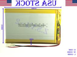 3.7V 4000mAh 606090 Polymer Lithium LiPo Rechargeable Batter