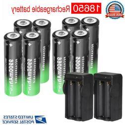 3.7V Rechargeable Batteries Li-ion Battery Cell For Flashlig