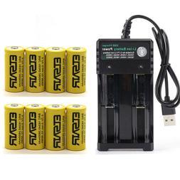 3.7V16340 CR123 Battery Li-ion 2800mAh Rechargeable Battery