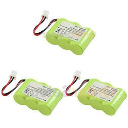 3 new home phone rechargeable battery