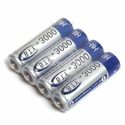 3000MAH 1.2V AA Size Ni-MH Rechargeable Battery for Electron