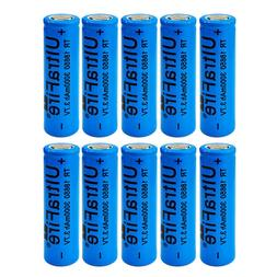 3000mah 18650 Battery 3.7V High Drain Rechargeable Li-ion Fl