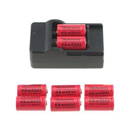 3000mAh <font><b>Rechargeable</b></font> 3.7V Li-ion 16340 <