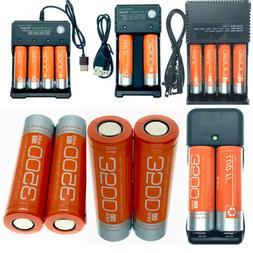 3500mah 18650 Battery Rechargeable Flat Top Head 18650 Batte