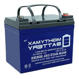 Mighty Max 12V 35AH GEL Battery Replacement for Clore Automo