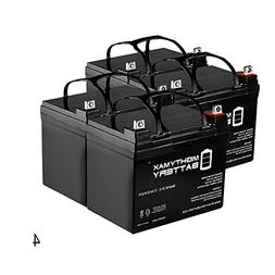 12V 35Ah SLA Battery Replacement for Inverters, Signage - 4