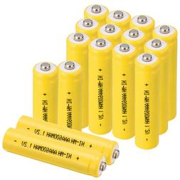 3A 1.2V Ni-MH 600mAh AAA Rechargeable Battery For Solar Equi