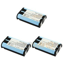 3x Rechargeable Home Phone Battery for Panasonic HHR-P104 HH