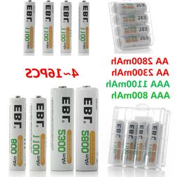 EBL Lot 4-20PCS AA AAA 800/1100/2300/2800/mAh NI-MH Recharge
