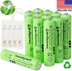 4-24 Pcs AAA Rechargeable Batteries Ni-Mh 600mAh Battery Wit