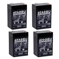 6V 4.5AH Rechargeable Sealed Lead Acid  Battery for Exit Lig
