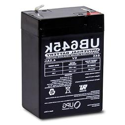 Universal Power Group 6V 4.5AH Replacement Battery for Yunto