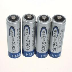 4/8/12/16/20pcs BTY Ni-MH AA 2500mAh 1.2V Rechargeable Batte